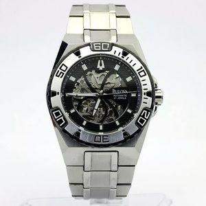 Bulova 21 Jewels Automatic Stainless Steel Watch